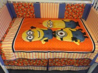 Minion Despicable Me Boutique Crib Nursery Toddler Bedding Set