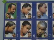 barbershop poster hair styles african