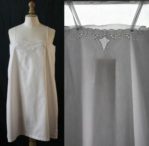 Whitecotton Slip Dress