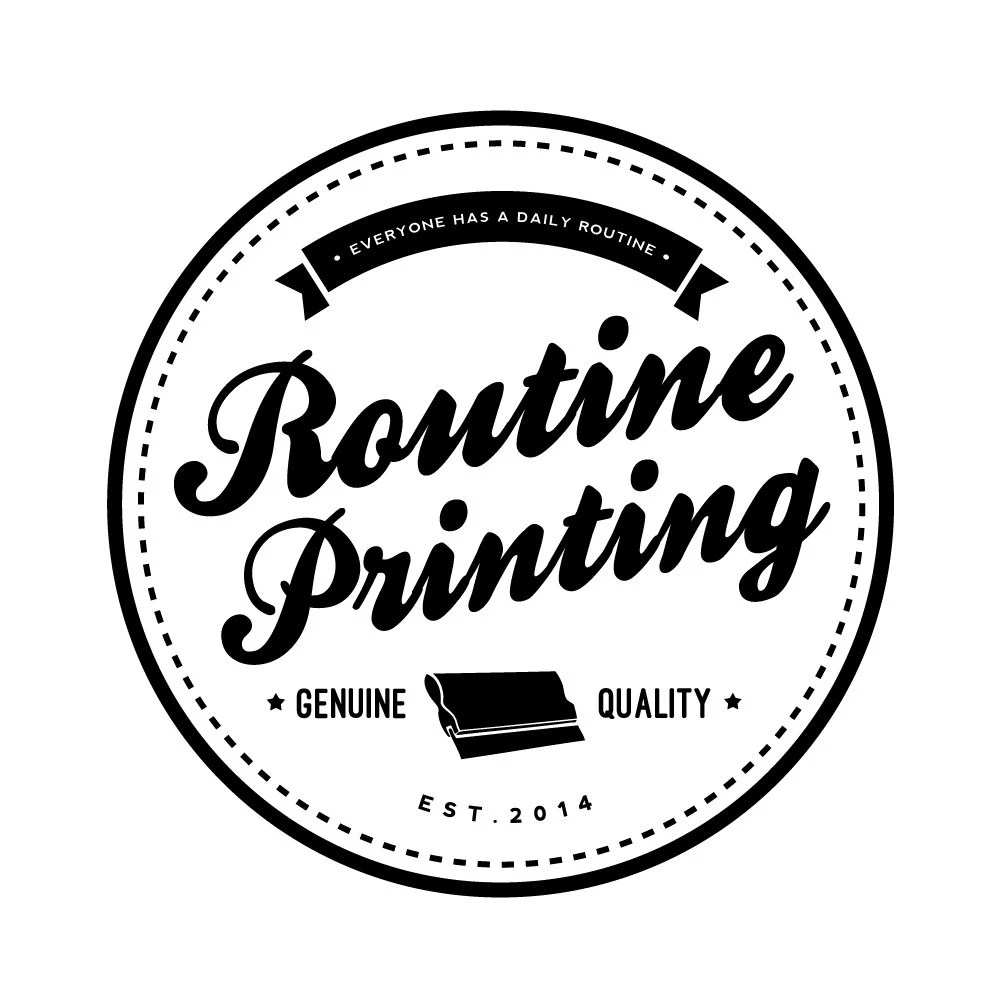 Everyone has a daily routine™ by RoutinePrinting on Etsy