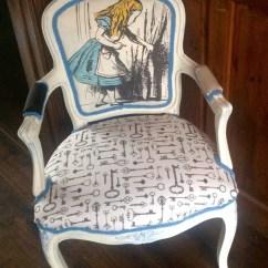 Alice In Wonderland Chair American Girl Doll Styling Inspired Louis By Vintageaurorarose