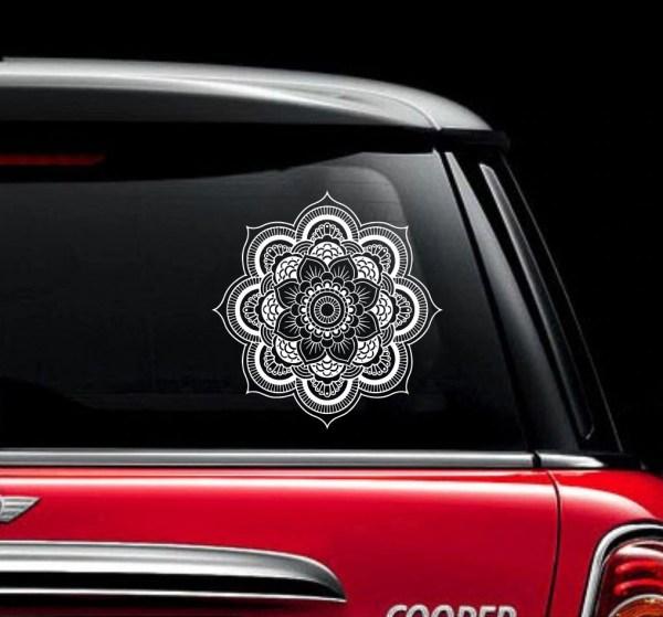 Mandala Car Decal Vinyl Sticker Decals Car Decal Sticker
