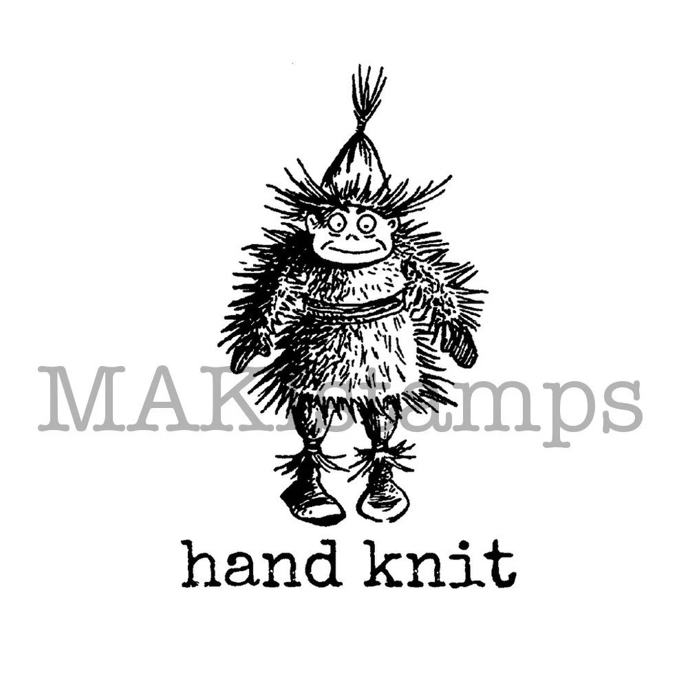Popular items for knit stamp on Etsy