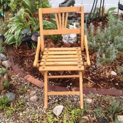 Child Camping Chair Wall Hugger Recliner Canada Czech Wooden Folding Size Vintage Doll