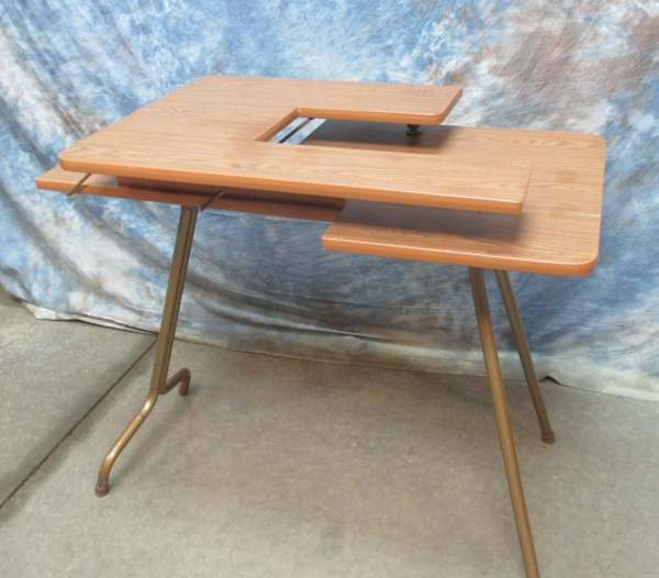 Adjustable Folding Sewing Machine Table Portable