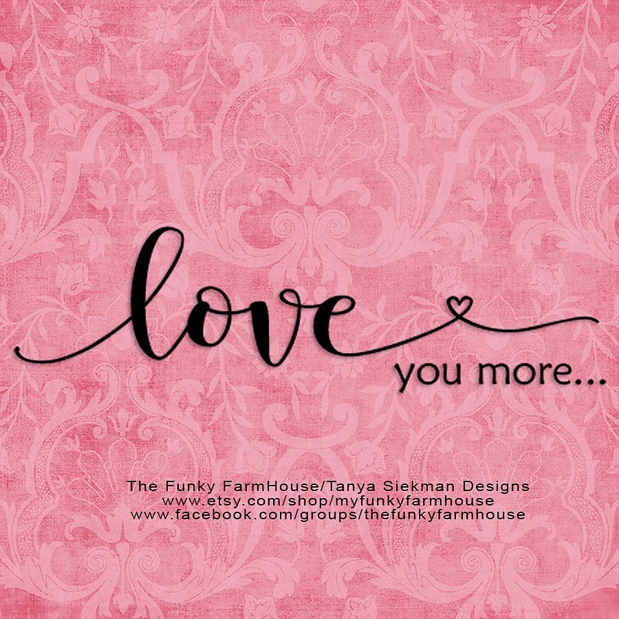 Download SVG & PNG Love you more