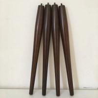 Mid Century Modern Furniture Legs Original Tapered Walnut