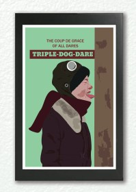 A Christmas Story print classic movie poster Geekry Triple