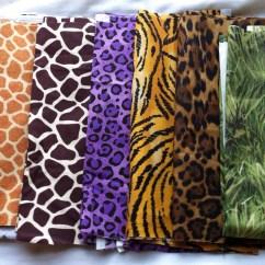 Safari High Chair Back Covers Birthday Zoo Theme Jungle Banner