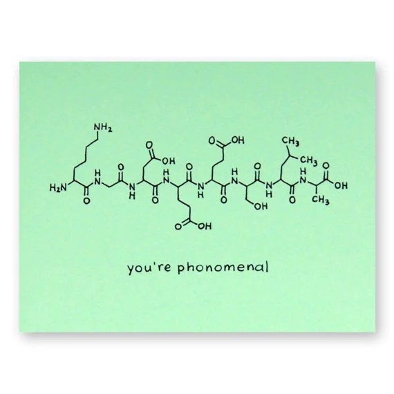 Pho Chemistry Card Youre Phonomenal Card Vietnamese