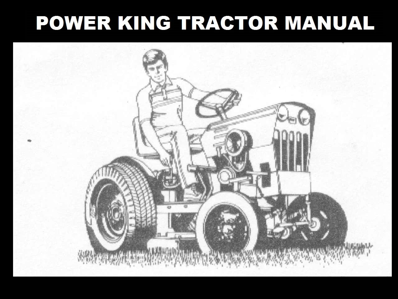 MASSEY FERGUSON MF50 Tractor Parts Manual for MF 50 Service