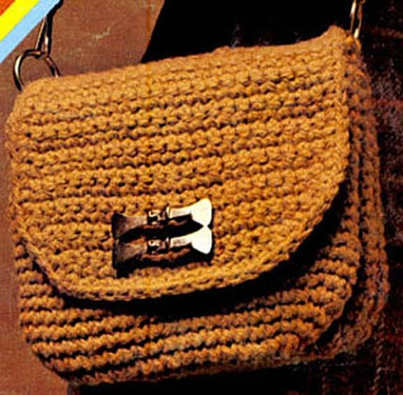 Free Vintage Crochet Bag Pattern : Instant PDF Download Vintage Crochet Pattern to make a ...