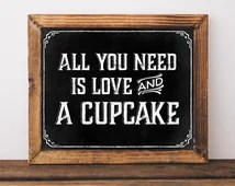 Download Popular items for cupcake signs on Etsy