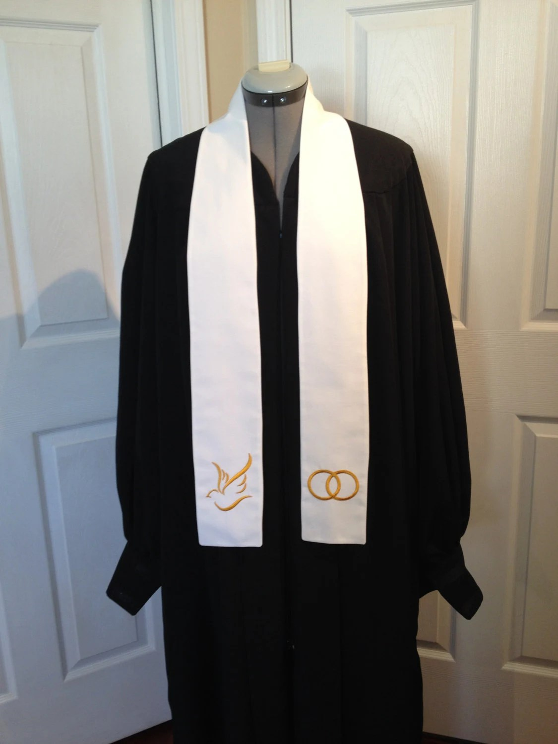 Wedding Officiant Clergy Stole or Vestment