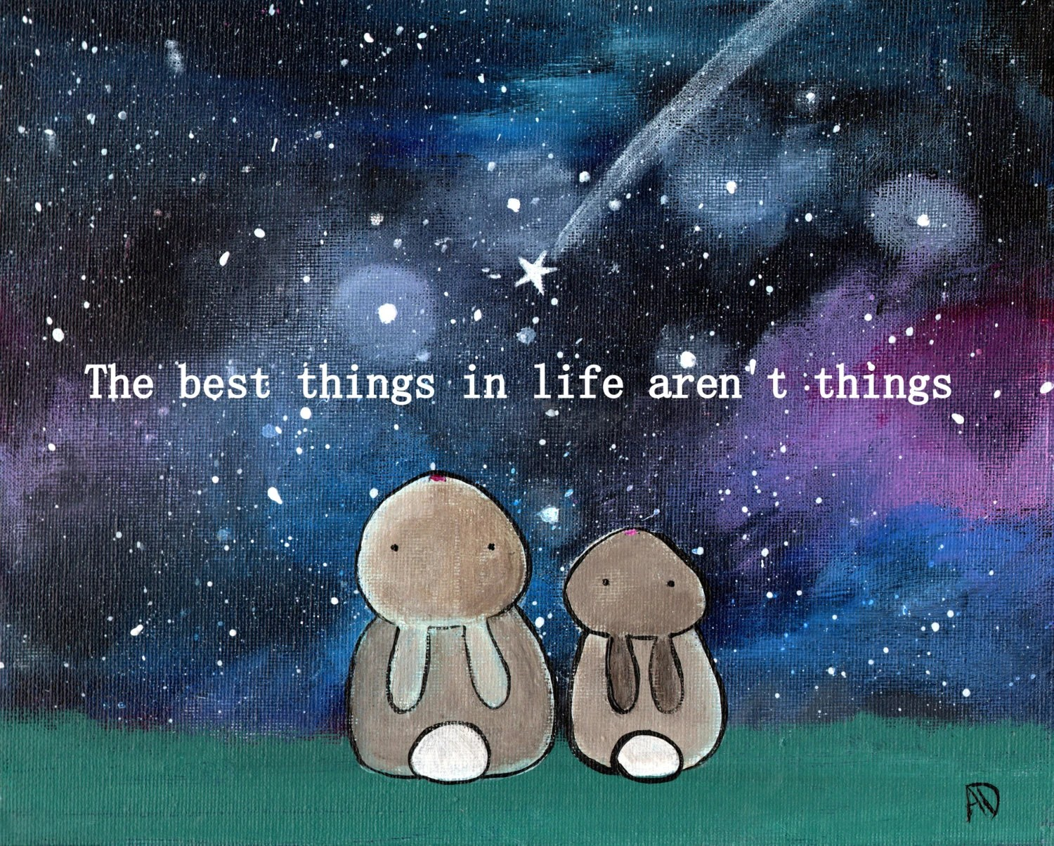 The Best Things In Life Aren T Things Bunny Rabbit