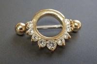 Gold Nipple Ring Nipple Shield