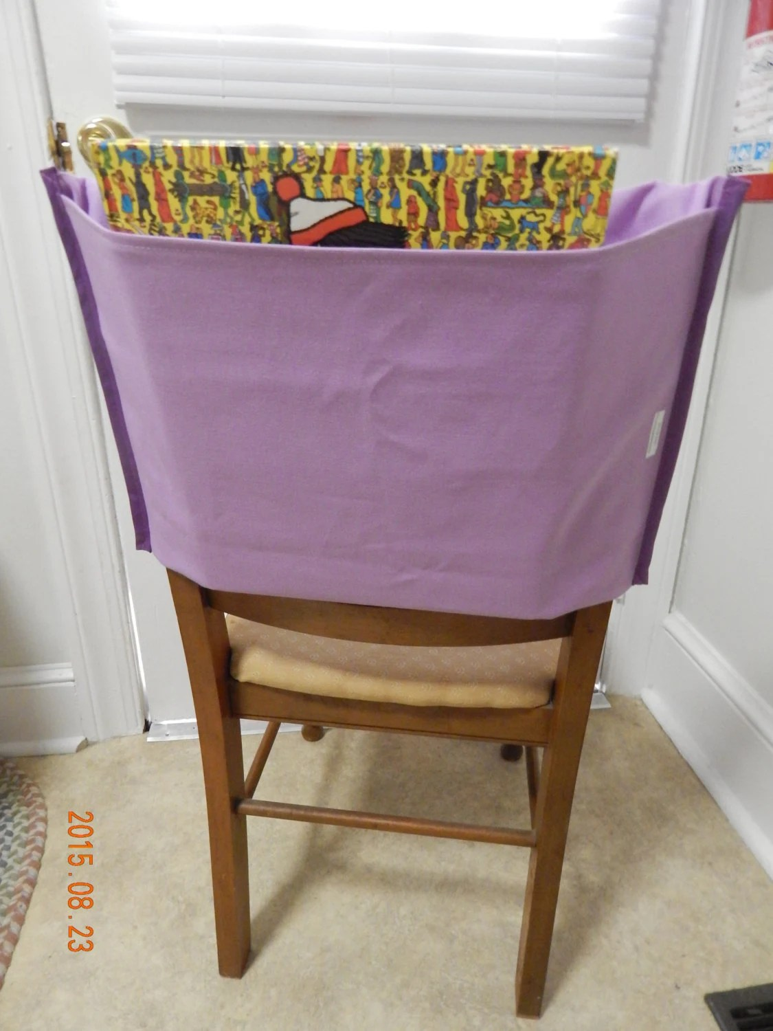 Chair Pockets For Classrooms Chair Back Pocket Lilac Classroom Organization By Sewnbynancy
