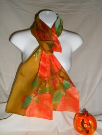 Thanksgiving Pumpkin Scarves for Women | Thanksgiving Wikii