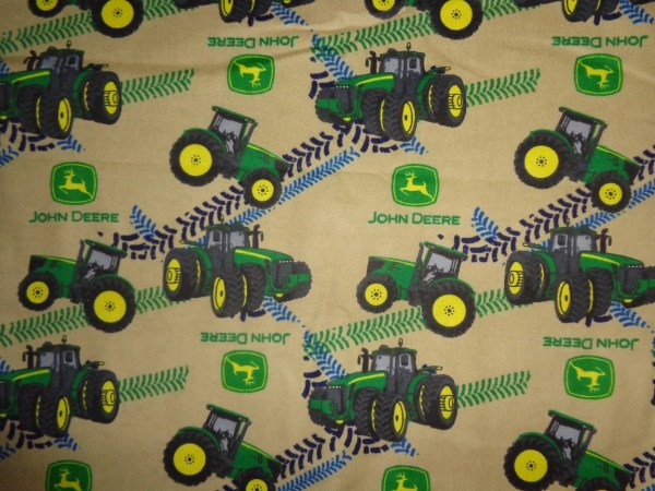 John Deere Tractor Fabric - Year of Clean Water
