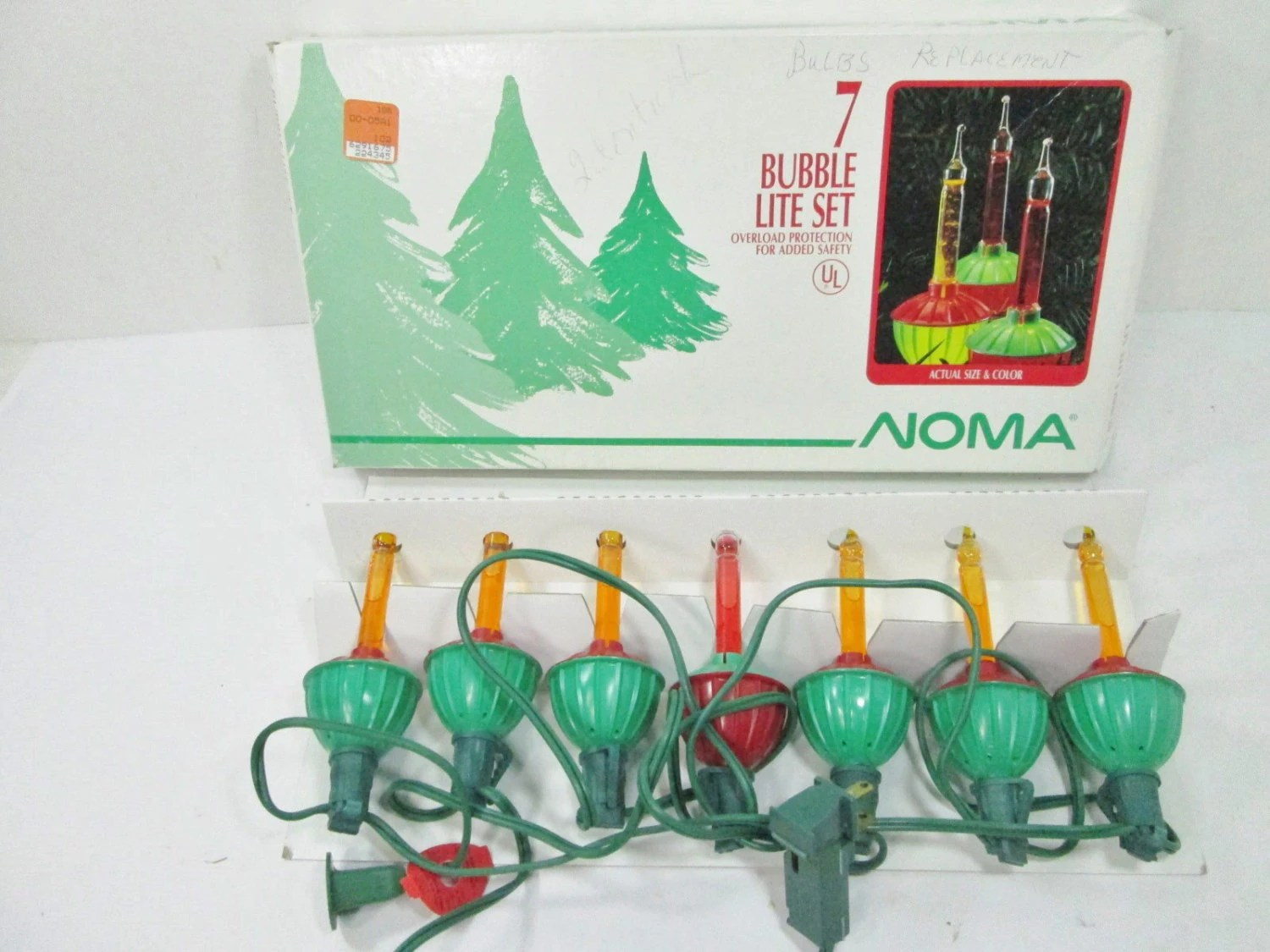 Vintage Bubble Lights Christmas Lights Noma By Girlpickers On Etsy