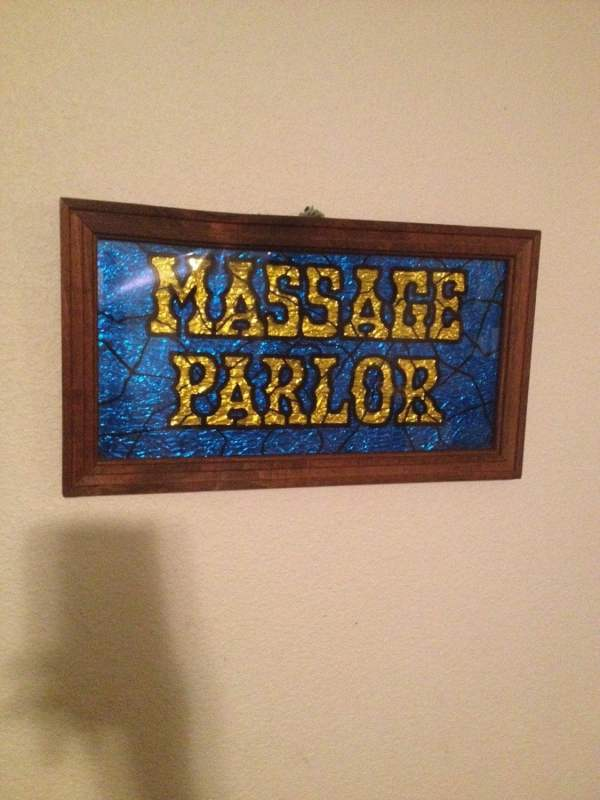Vintage Massage Parlor Sign Daydreamvintage77