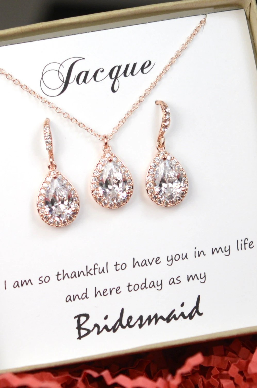 Image Result For Bridesmaid Jewelry Earrings Andcelet