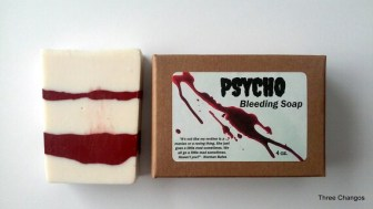 Psycho soap horror gifts