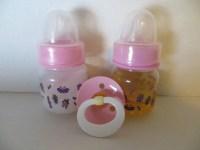 2 Reborn Baby Doll Preemie Bottles 2oz Fake by ...