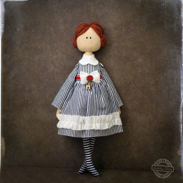 Art Textile Doll