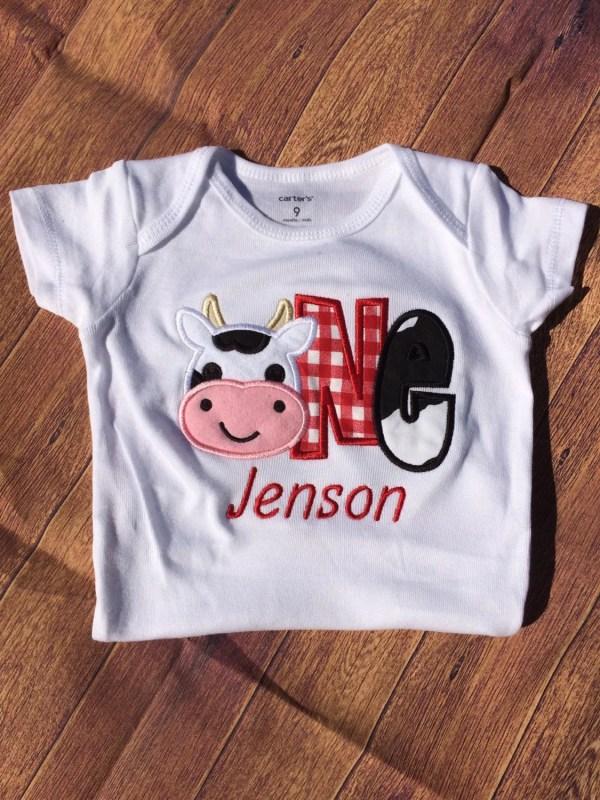 2nd Birthday Farm Shirts