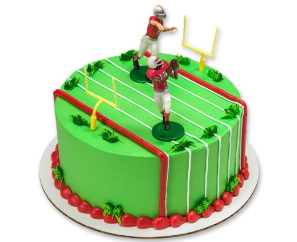 Football Team Cake Topper Football Cake Kit Football