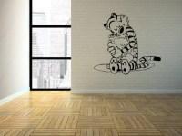 Calvin & Hobbes The Hug Interior Wall Art / Vinyl by ...