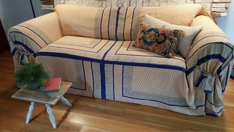 sofa covers karlstad fabric for sofas samples slipcover/bohemian scarf