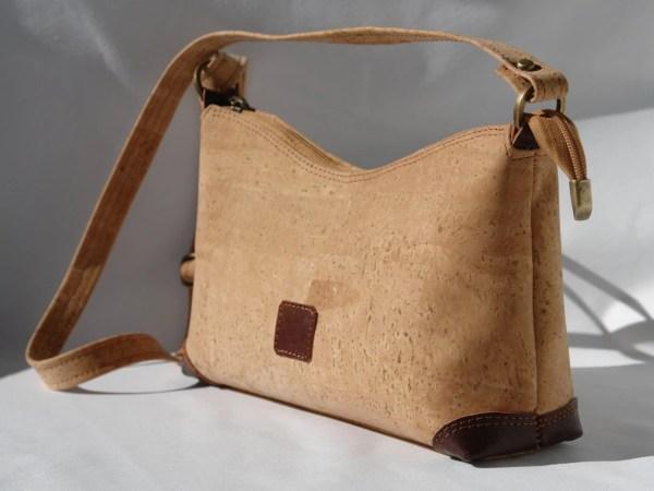 Cork Shoulder Bag Handbag Purse With Leather Luisalface