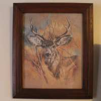 Vintage 1978 Home Interiors Homco The Silent Buck