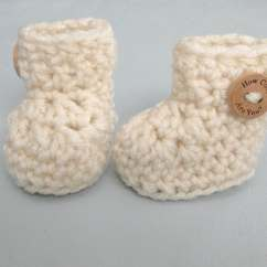 Crochet Baby Booties Diagram Bargman Plug Wiring Pattern Shoes Quick And Easy