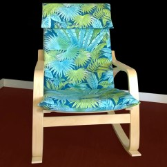 Summer High Chair Cover Vintage Butterfly Covers Tropical Leaf Ikea PoÄng House