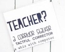Popular items for teacher retirement on Etsy