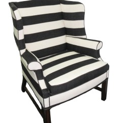 Black White Striped Chair Dining Room Leg Protectors Large Upholstered And  Haute Juice