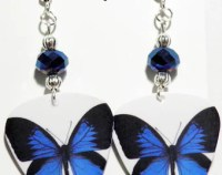 KEITH URBAN 1-4 Guitar Pick Beaded Earrings by ...