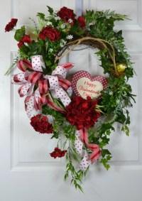 Valentine Wreath Valentine Swag St Valentine Wreath