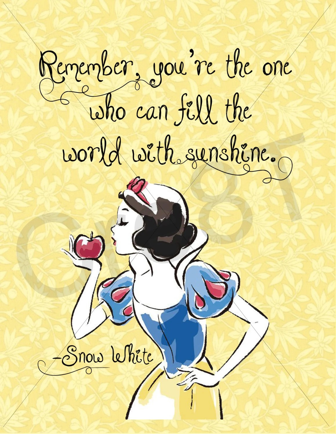 Cute Adventure Is Out There Wallpapers Disney Snow White Movie Quote Print