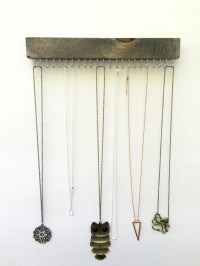 Necklace Holder Wall Mount Jewelry Organizer