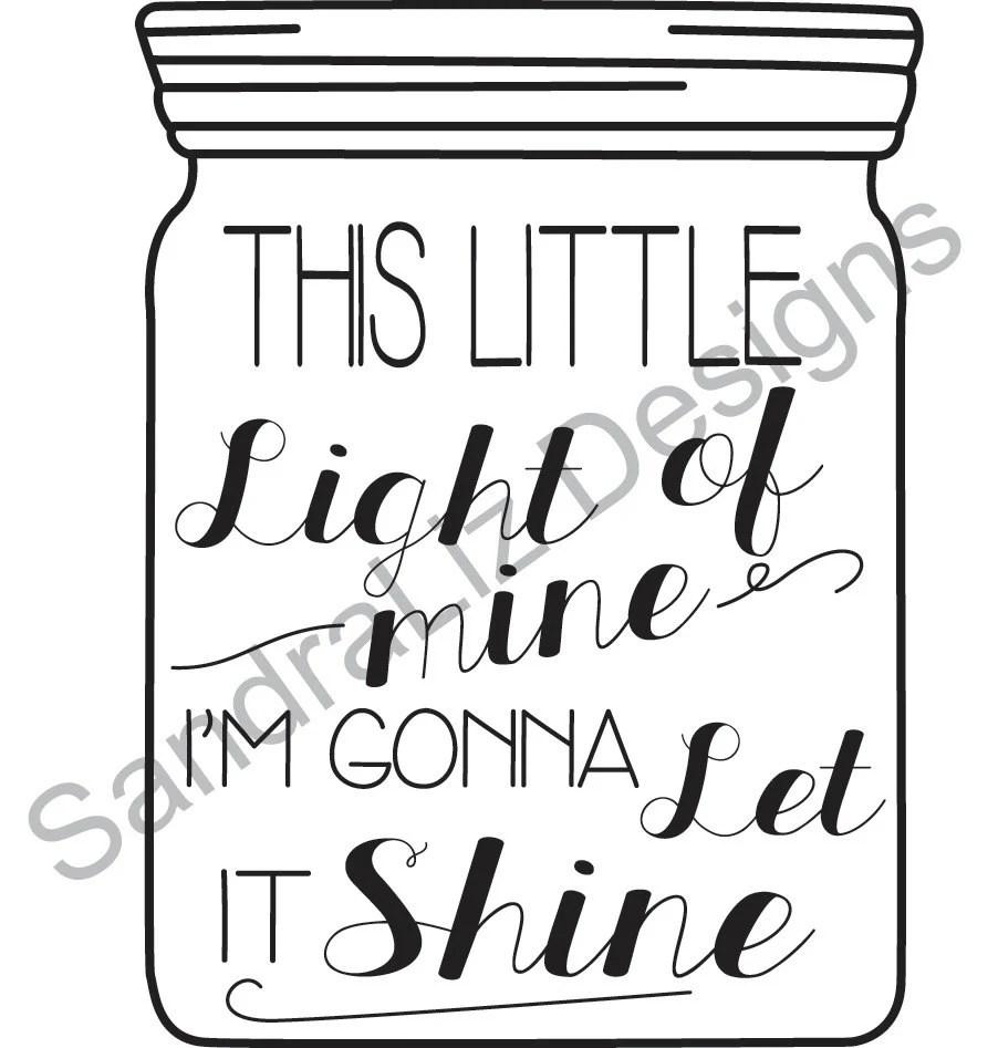 Popular items for little light of mine on Etsy