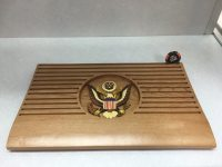 US Army Military Modern Flat Coin Holder