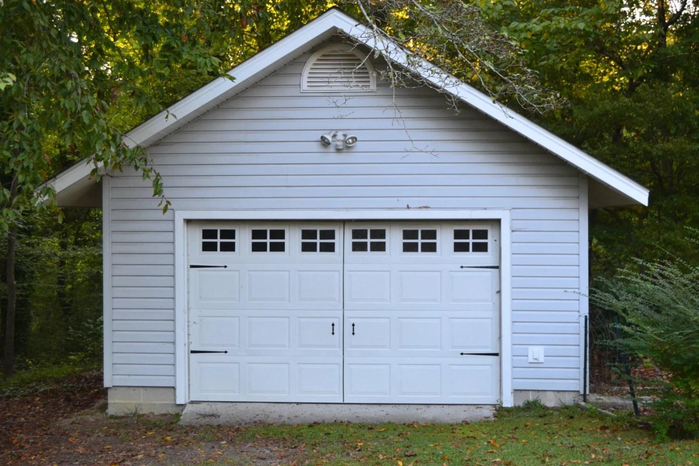Vinyl Faux Carriage Garage Door