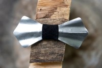 Metal Bow Tie- Steel, Heat Treated, Handmade, Adjustable ...