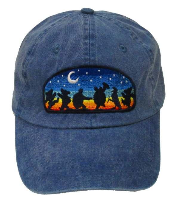 Grateful Dead Hat Moondance Embroidered Baseball Cap