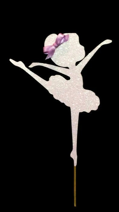Ballerina Cake Topper Cake Decoration Ballet by