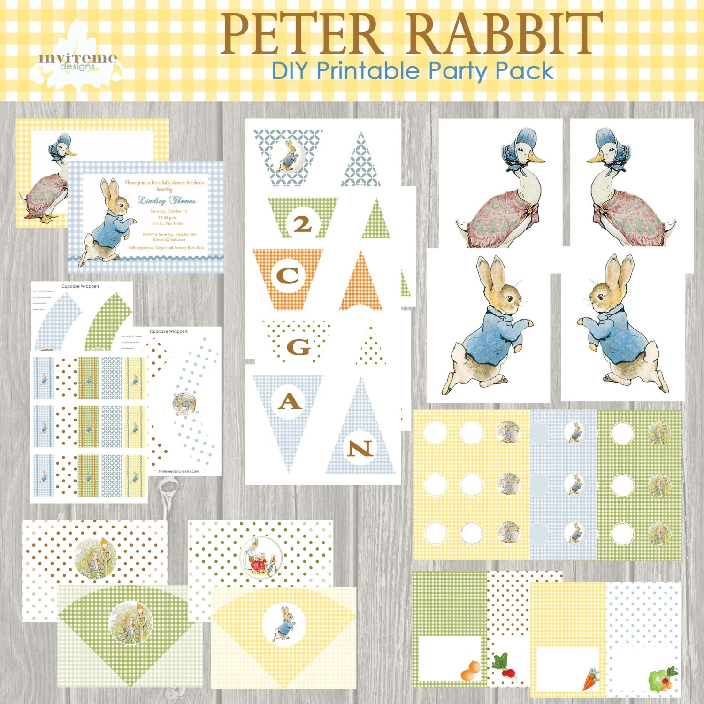 Instant Download Peter Rabbit Easter Printable Baby